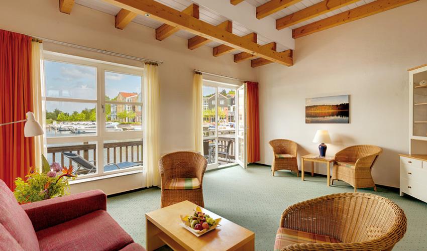 Best Western Plus Hotel Marina Wolfsbruch Fereinhaus Wohnzimmer