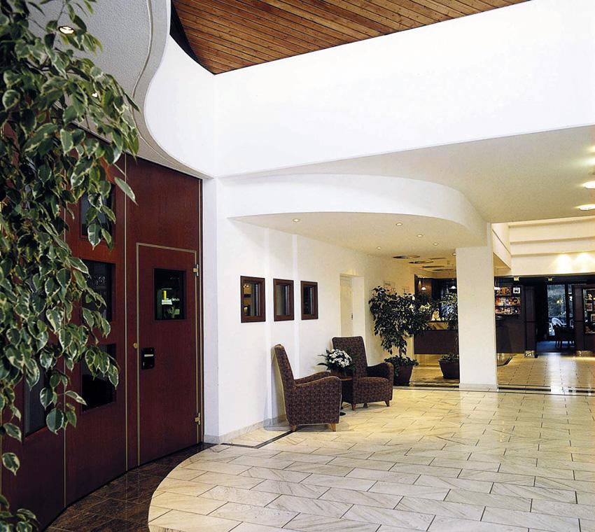Lindner Hotel Empfang